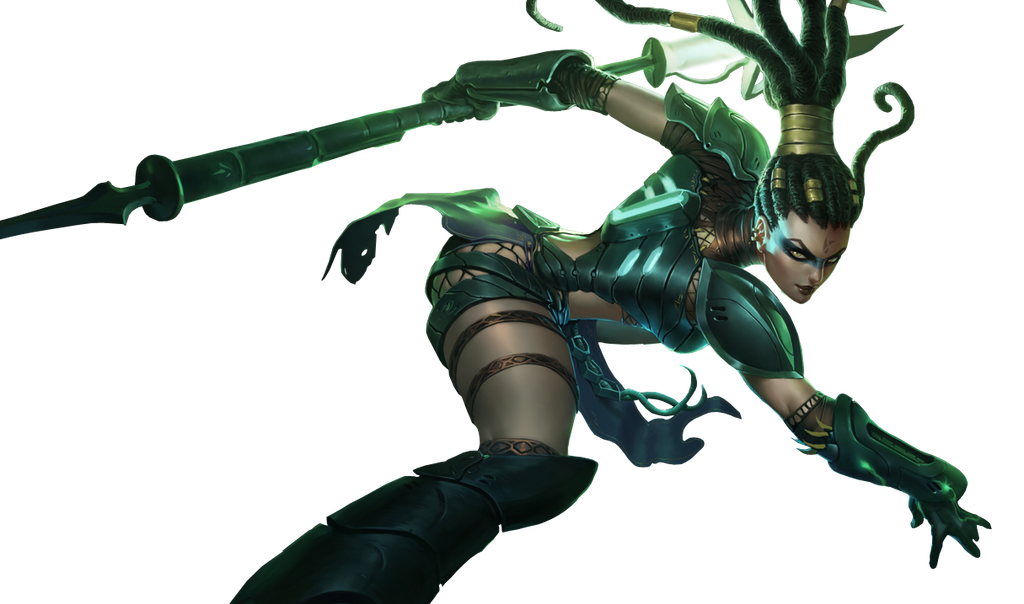 Head Hunter Nidalee Render by Sikk408