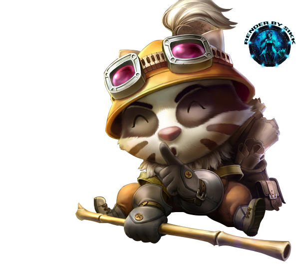 renders League Of Legend  Teemo_badger_by_sikk408-d61q72w