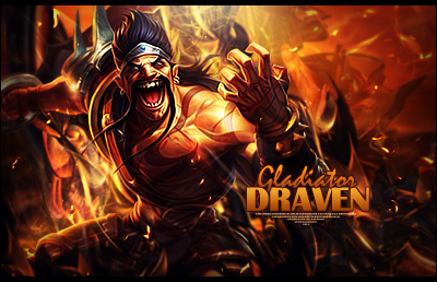 Gladiator Draven LoL by Sikk408