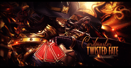 Cardmaster Twisted Fate by Sikk408