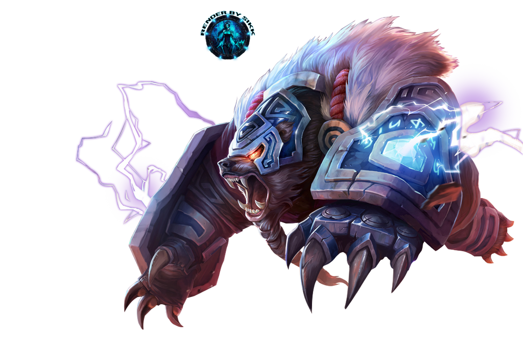 League of legends sejuani render by aliasear on deviantart volibear runeguard render by sikk408 voltagebd Choice Image