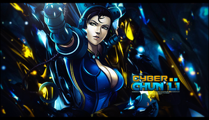 Cyber Chun-Li by Sikk408