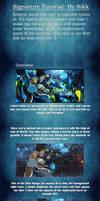 C4d Signature Tutorial: Avatar Korra by Sikk408