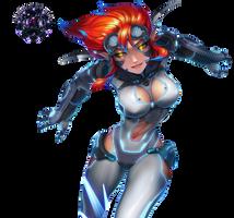 Sci-Fi Evelynn by Sikk408