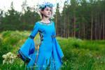 Princess with flowers 3