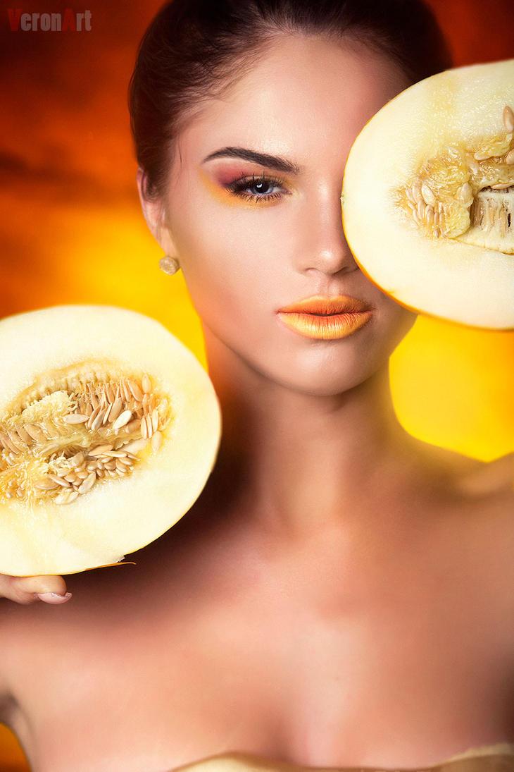 Melons . beauty portrait3 by VeroNArt