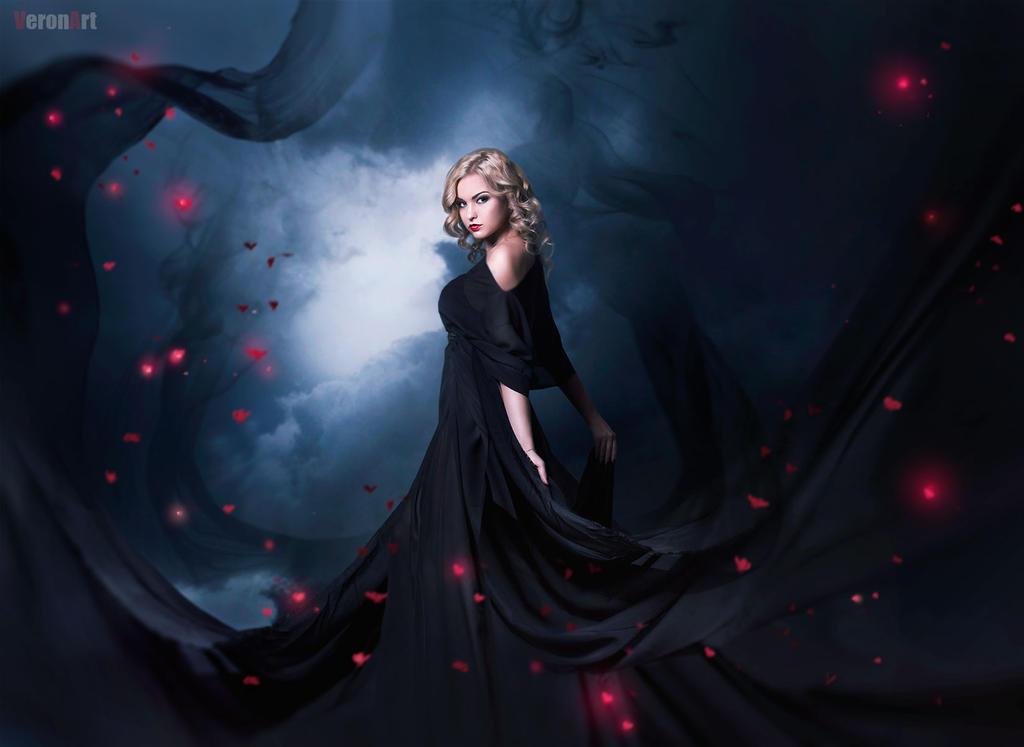 dark girl by VeroNArt