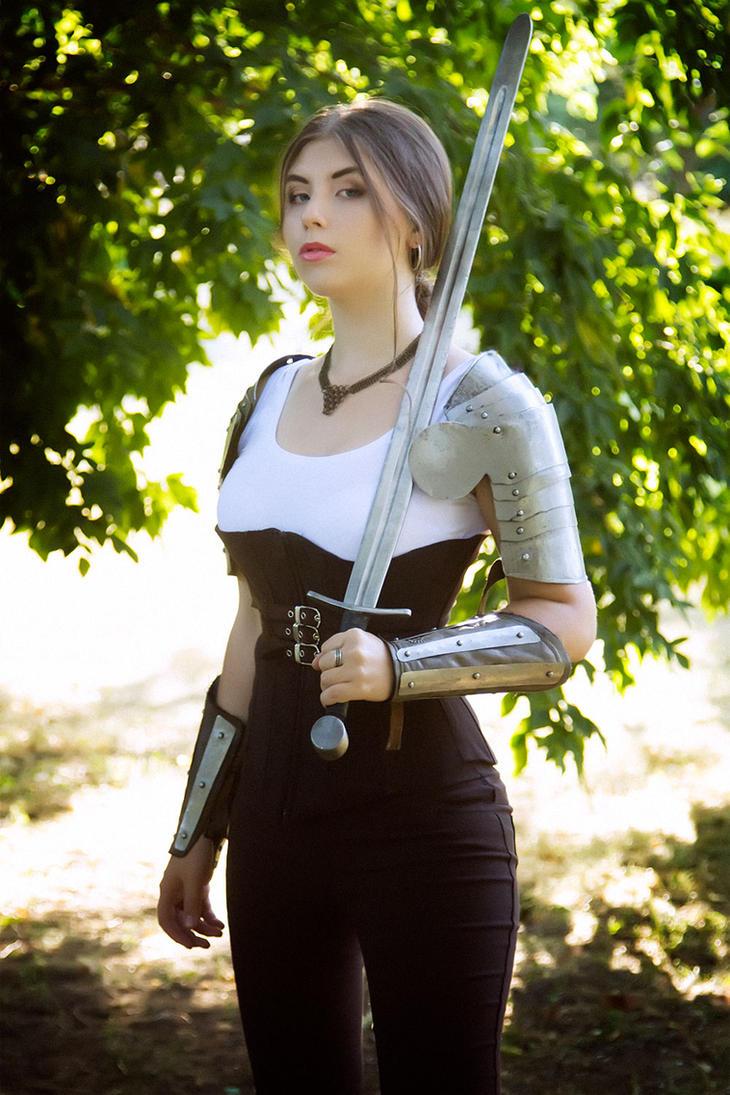 in the armor by VeroNArt