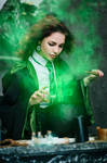 Student of the Slytherin Faculty8