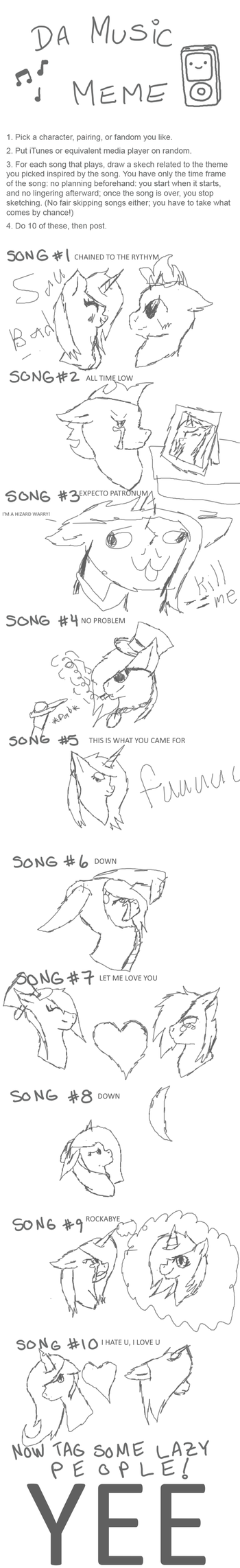 Music meme finished 2k17 by ZeonXeon