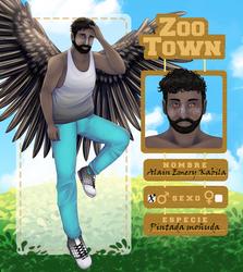 [OC] Alain - Ficha Zoo-Town