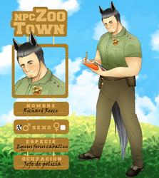 [OC] Richard - Ficha NPC Zoo-Town