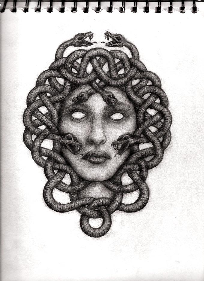 Medusa Artwork Tattoo: Medusa By FallenSouls33 On DeviantArt