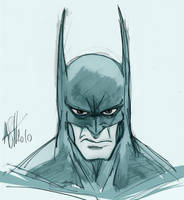 batman face by scarecrowhassan