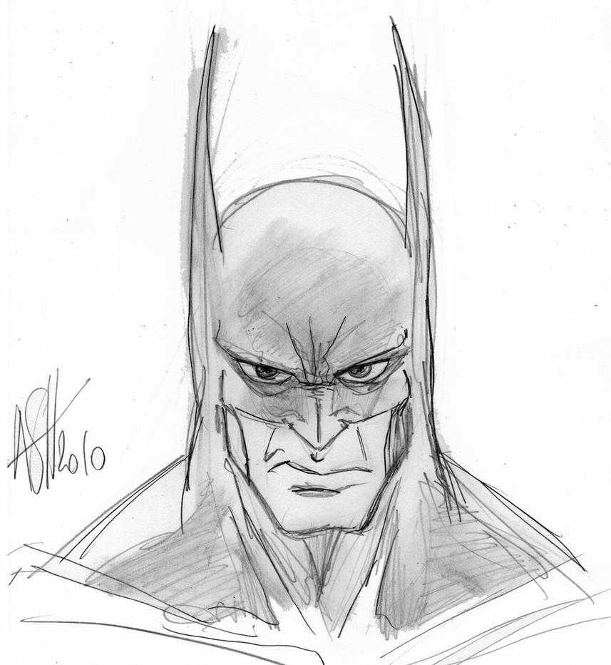 Batman Face Pencils By Scarecrowhassan On DeviantArt