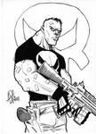 Punisher inked