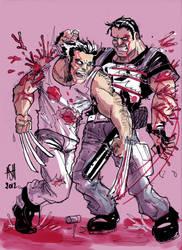 Logan vs Franck by scarecrowhassan