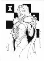 White Queen by scarecrowhassan