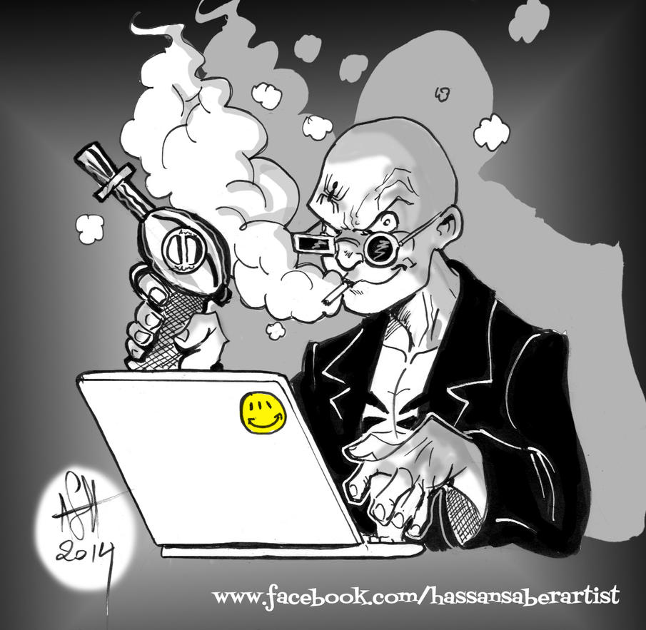 Spider Jerusalem by scarecrowhassan