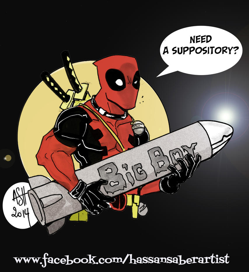 Deadpool by scarecrowhassan