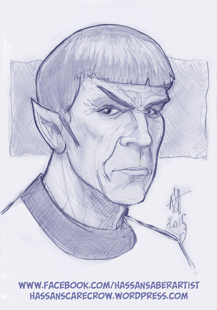 Spock by scarecrowhassan