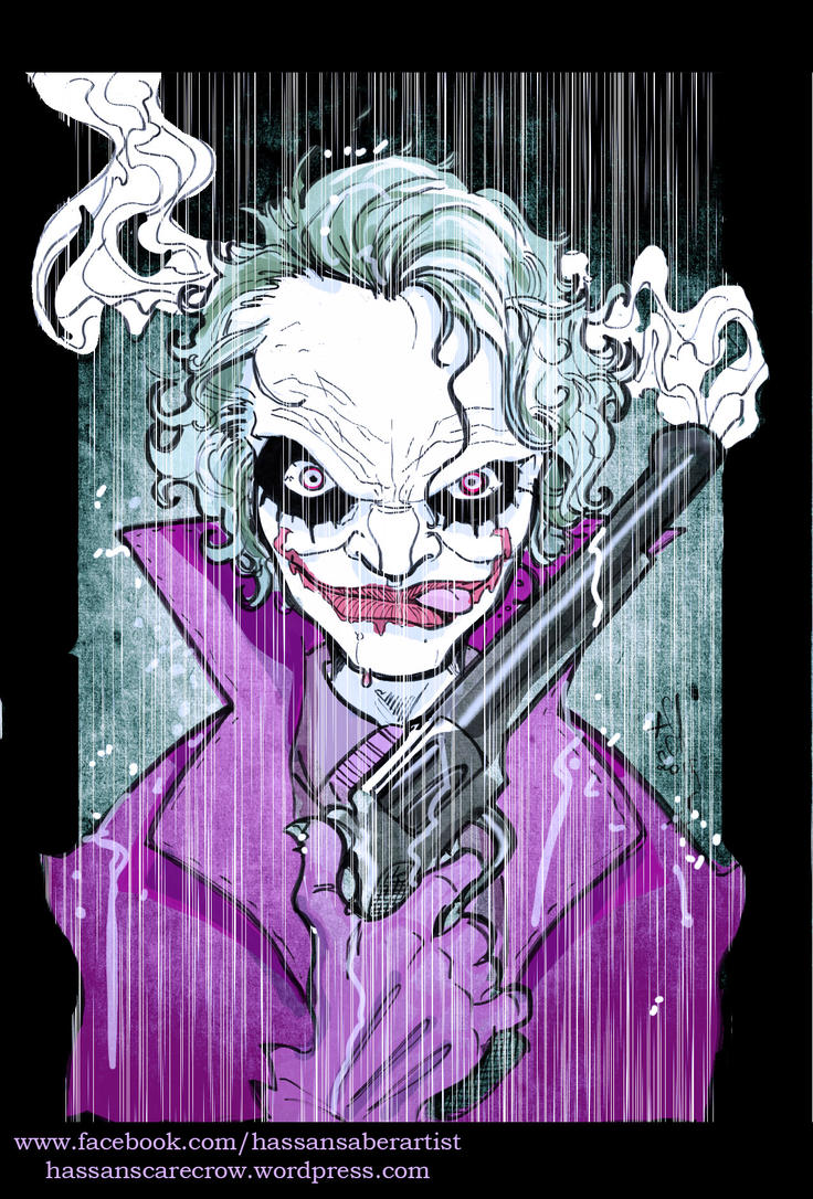 Joker by scarecrowhassan