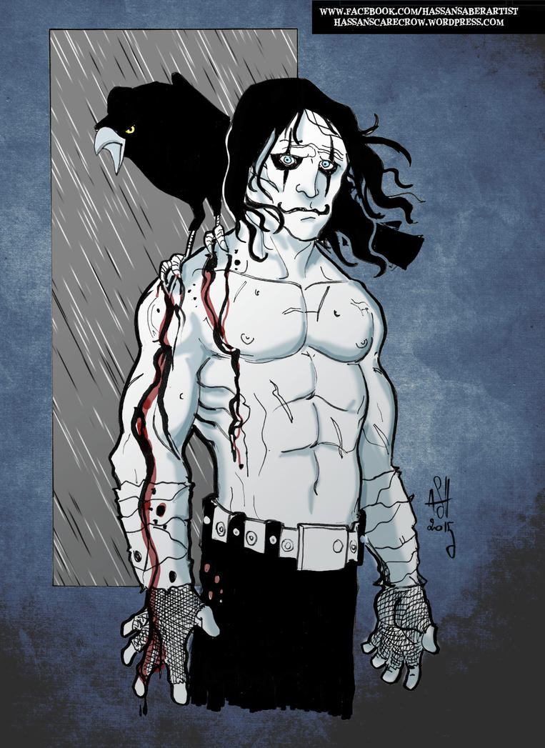 The Crow by scarecrowhassan