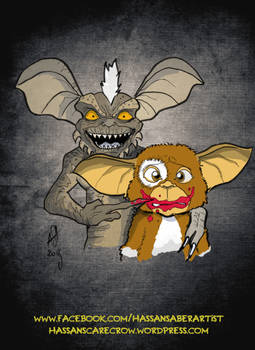 Gremlins Batgirl spoof