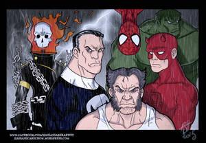 Marvel badasses
