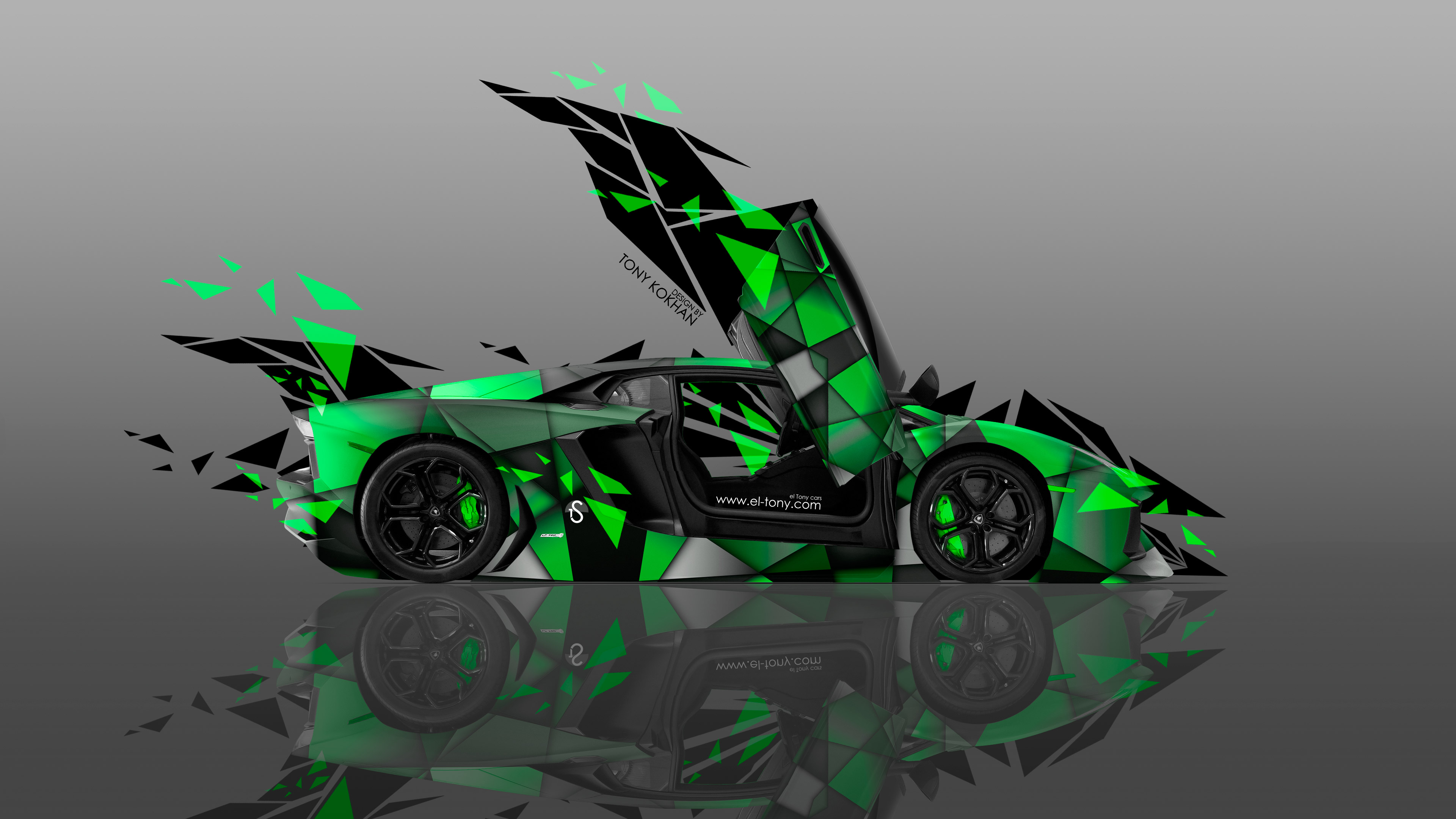... Lamborghini Aventador Open Doors Side Transformer  By Lacky96