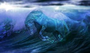 Water Horse by Arabiian