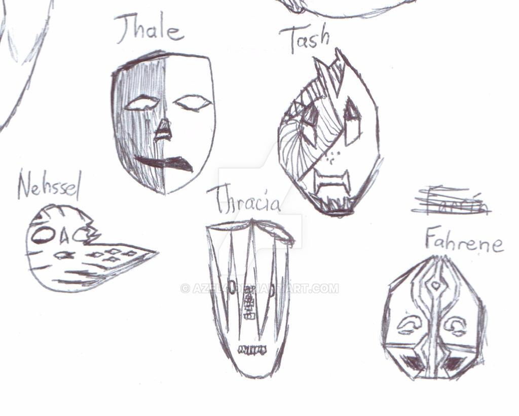 Masks by Azel4