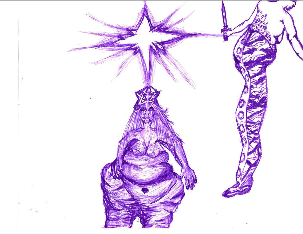 Astraea and Nuwa by Azel4
