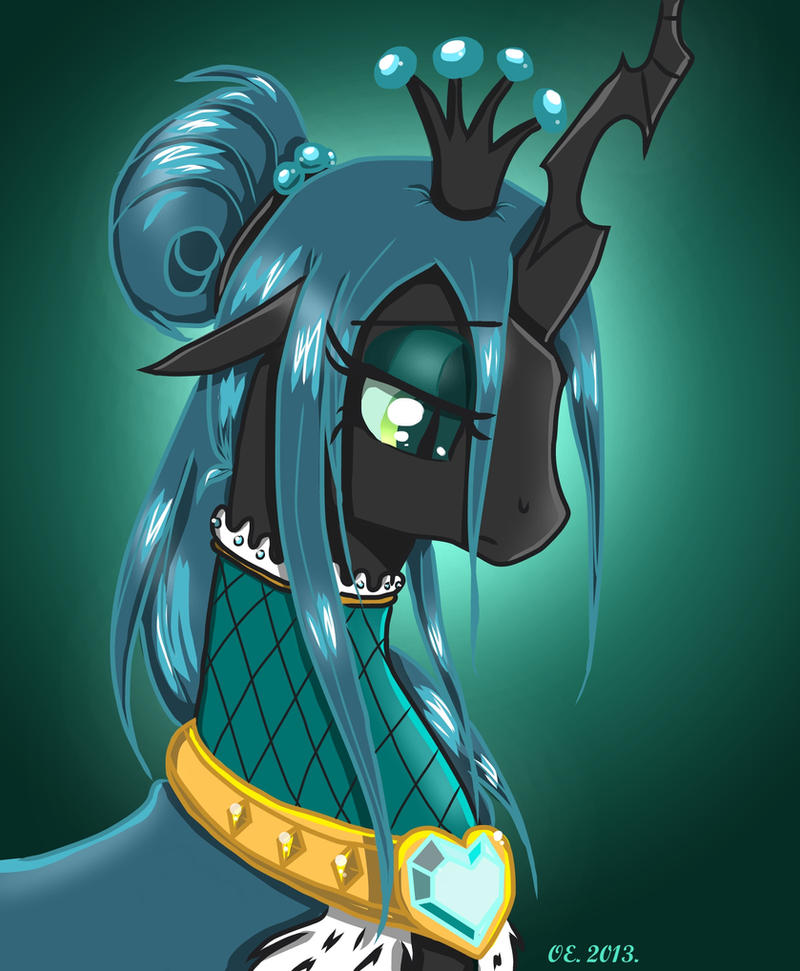 Chrysalis - Queen of the Crystal Empire by Yula568