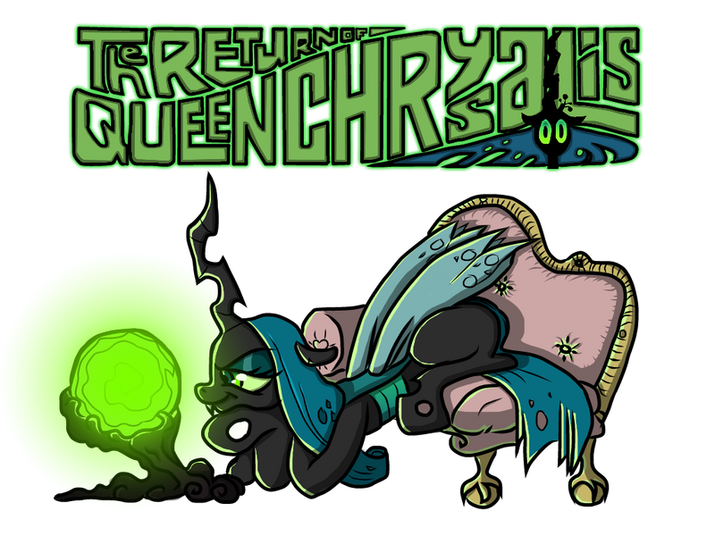 The Return of Queen Chrysalis by Yula568