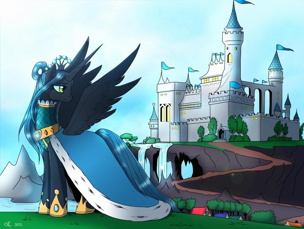 Coronation of Princess Chrysalis by Yula568