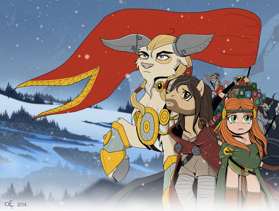 The Banner Saga by Yula568