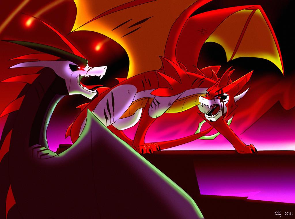 Dragonformers Tfp Soundwave And Knockout By Jazzthetiger