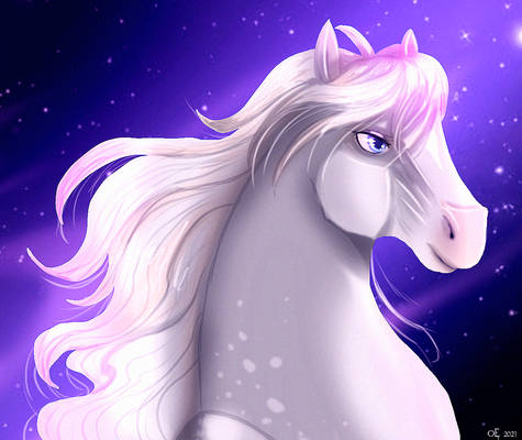 Just a mare and stars
