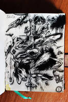 SkullsDump by MattBarley