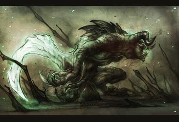 DeathClaw by MattBarley