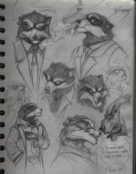 Backbone sketches