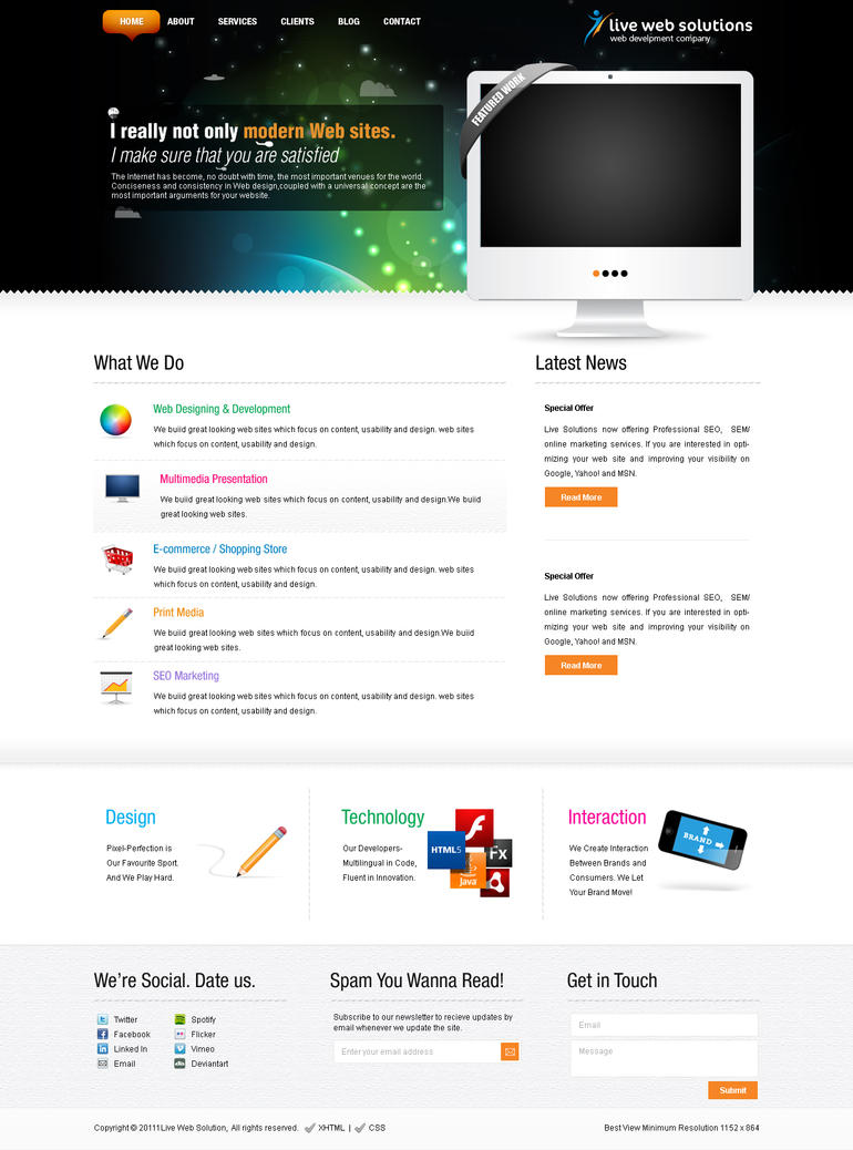 Live Web Solutions by livewebsol
