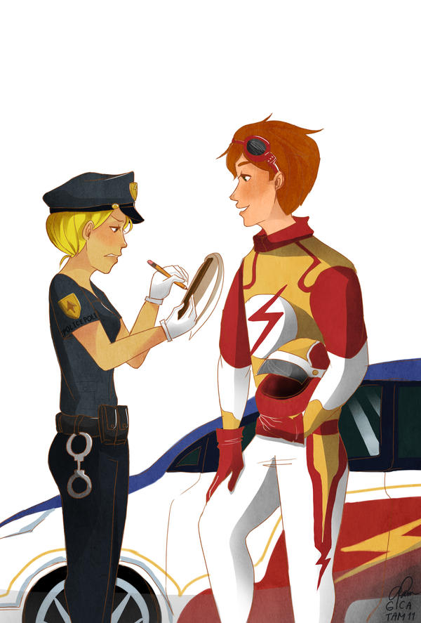 You re a Cop  by rhiemeYoung Justice Beast Boy Transformations
