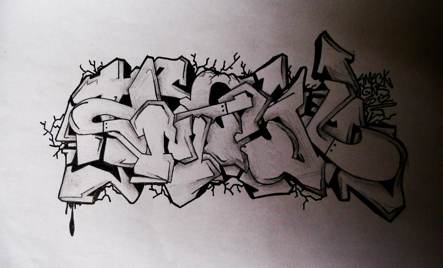 SmecK Graffiti Sketch 2 by SmecKiN on DeviantArt