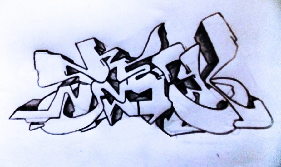 Love Graffiti Sketches Smeck Graffiti Sketch 3 by