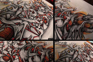 DEMONS GraffitiSketch #details