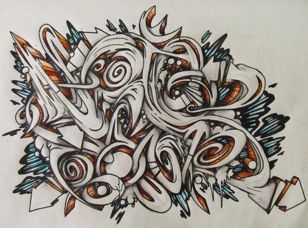 Mad bomr Graffiti Sketch # writersbattle entry by SmecKiN