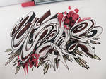 Graffiti Sketch battle entry #WAR