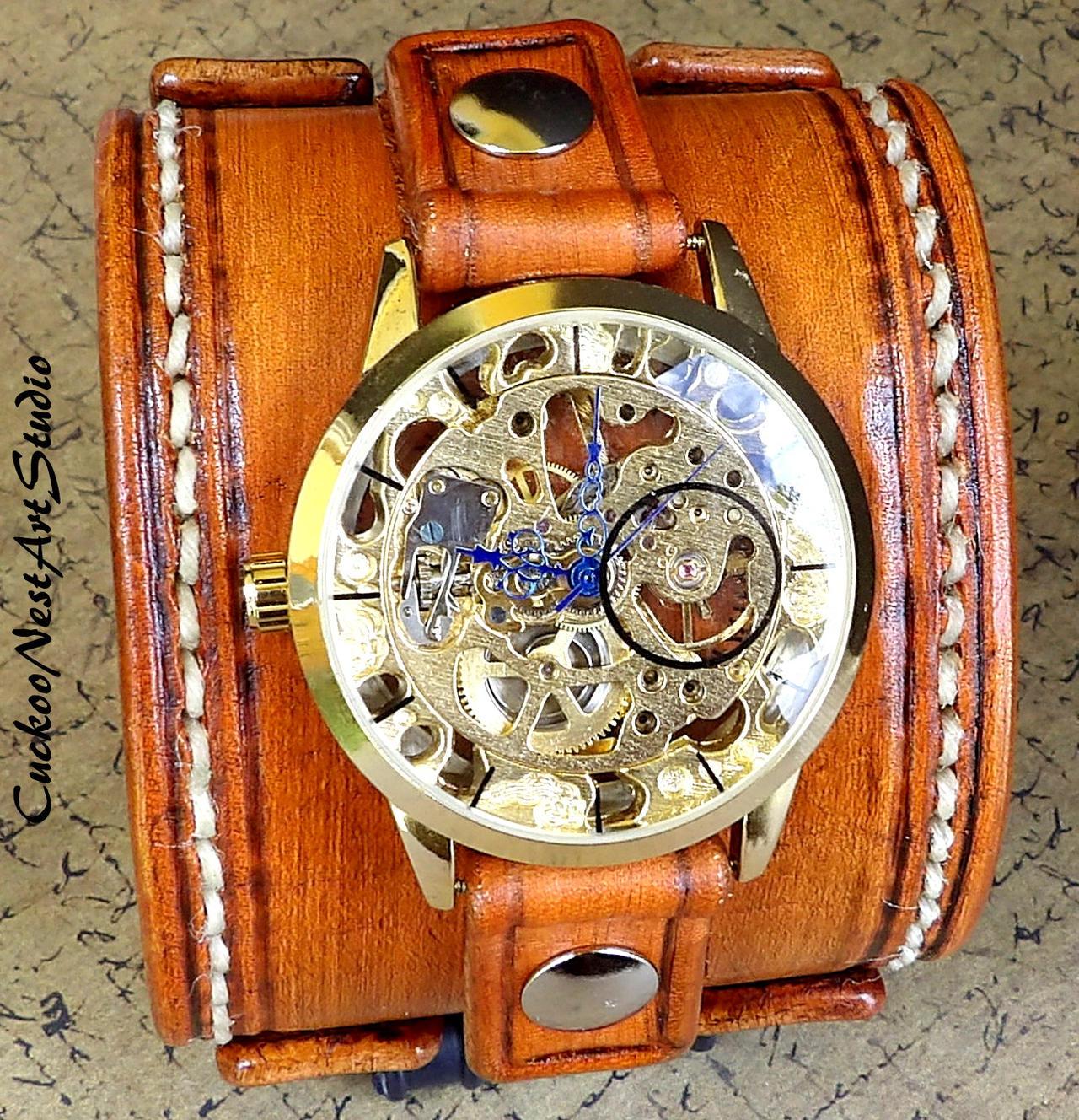 Мужские часы в стиле стимпанк - купить наручные